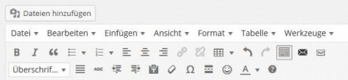 Der neue Editor von WordPress 3.9