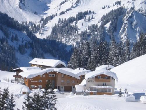 Winteransicht Haus Moosmann