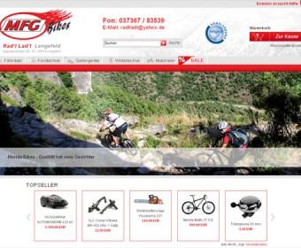 Website des Radl Ladl