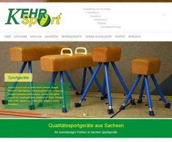 Neue Website für www.kehr-sport.de