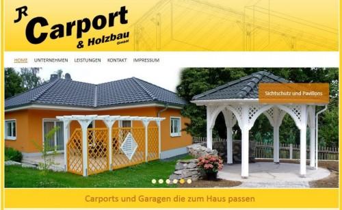 Die neue Website www.carport-holzbau.de ist online!